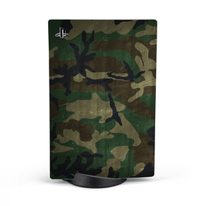 PLAYSTATIONS 5 WOODLAND CAMO SKIN