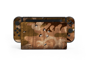 Nintendo Switch Desert Camo Skin Decal Kit