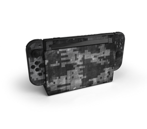 Nintendo Switch Digital Camo Skin Decal Kit