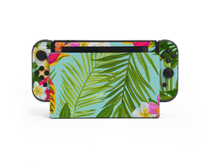 Nintendo Switch Hawaiian Skin Decal Kit