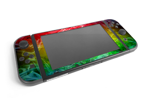Nintendo Switch Rasta Skin Decal Kit