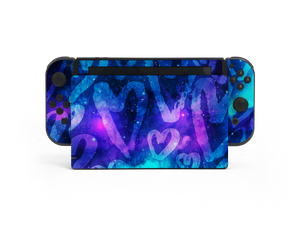 Nintendo Switch Space Love Skin Decal Kit