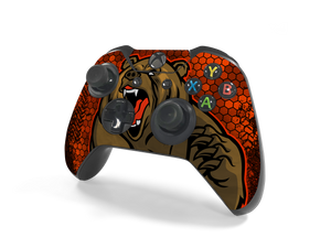Xbox One Controller Bear Country Decal Kit