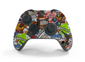 Xbox One Controller Comic Decal Kit