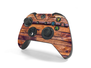 Xbox One Controller Lumber Decal Kit