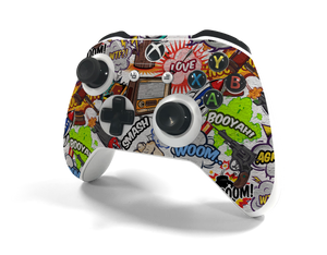 Xbox One S Controller Comic Decal Kit