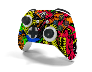 Xbox One S Controller Wizard Camo Decal Kit