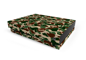 Xbox One X Khaki Game Camo Skin