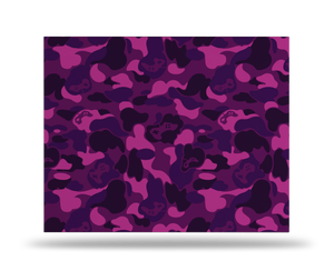 Xbox One X Purple Game Camo Skin