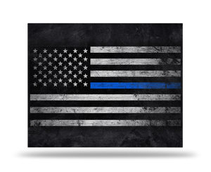 Xbox One X Thin Blue Line Skin