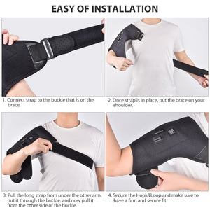 Electric Heat Therapy Adjustable Shoulder