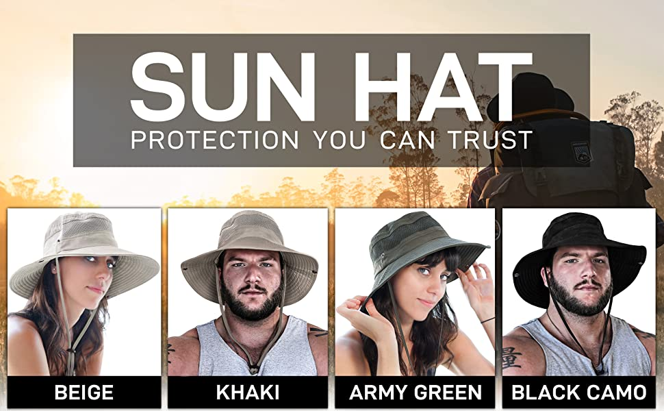 Navigator Series Fishing Hat with UPF 50+ Sun Protection gallery image 1