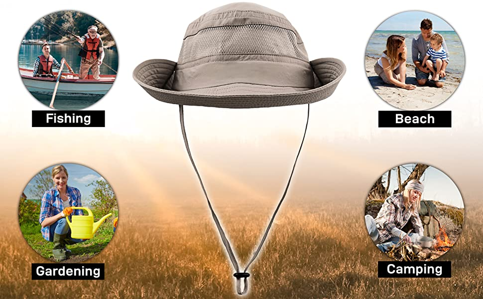Navigator Series Fishing Hat with UPF 50+ Sun Protection gallery image 2