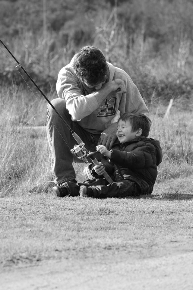 Fishing-son-father