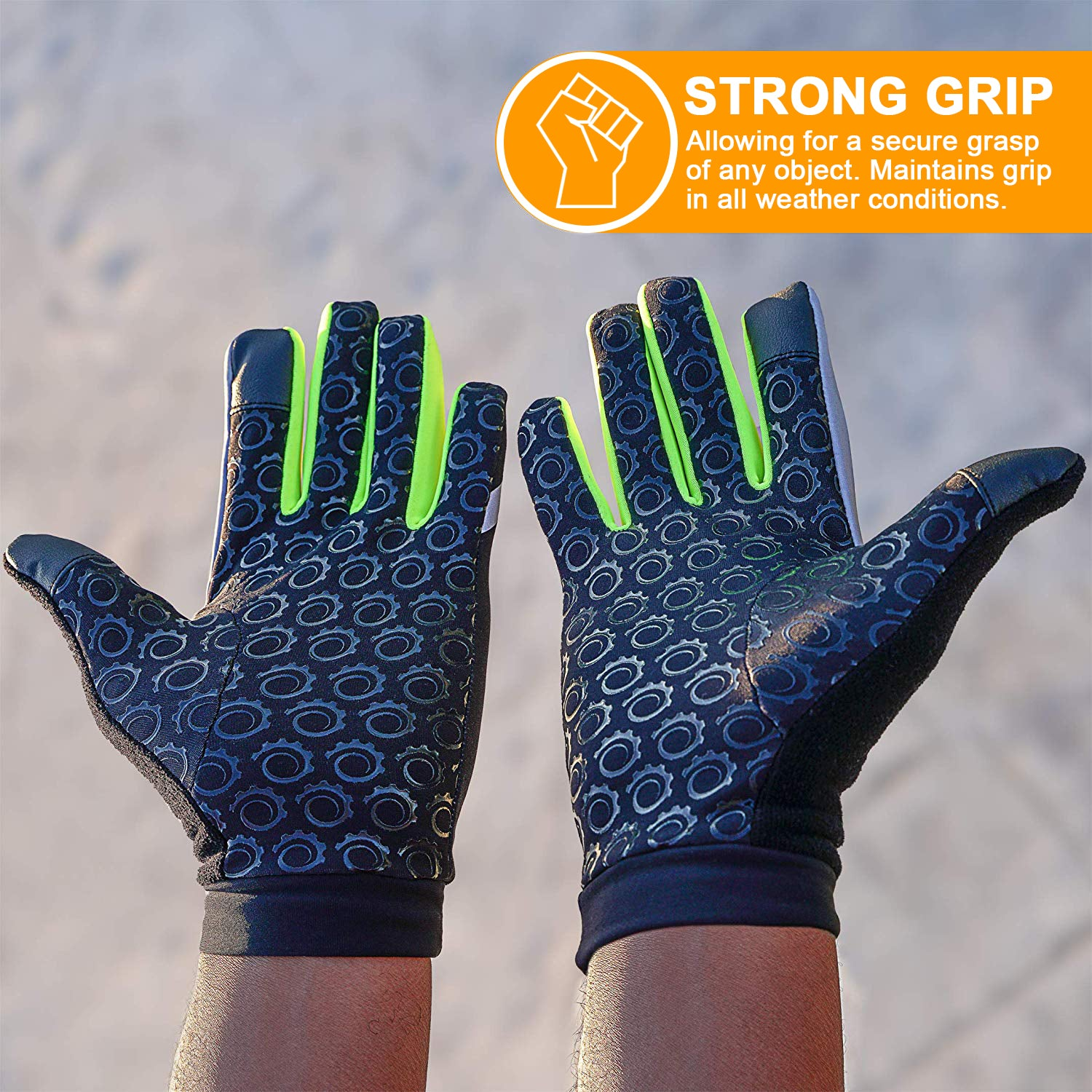GearTOP Safety Gloves with strong grip