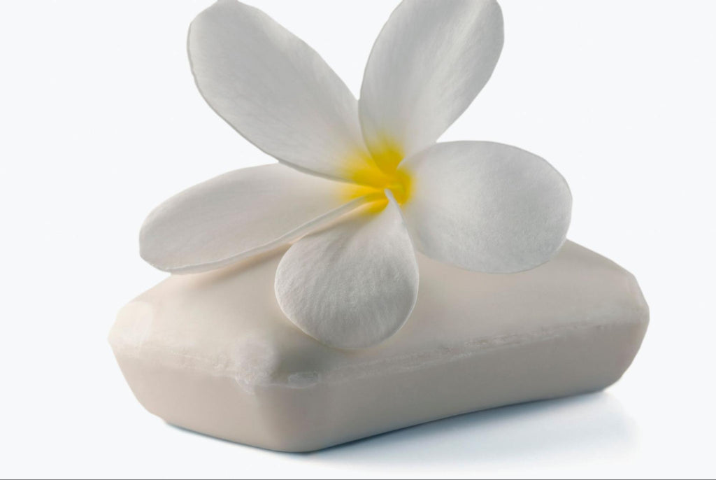 soap and a flower