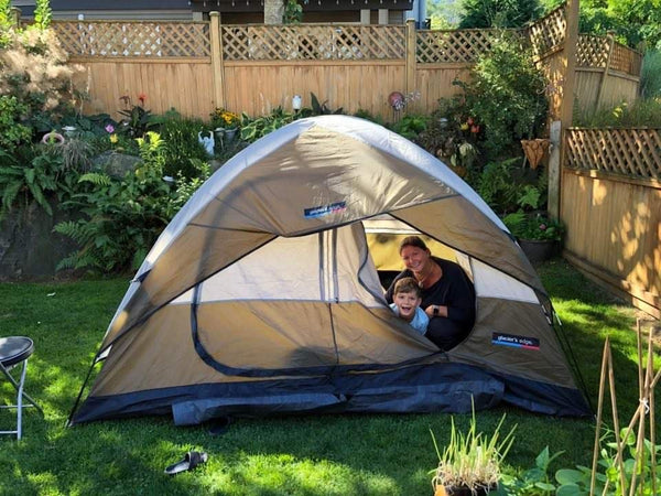 Practice Camping Overnight With Your Emergency Gear In Your Backyard (Or A Nearby Park)
