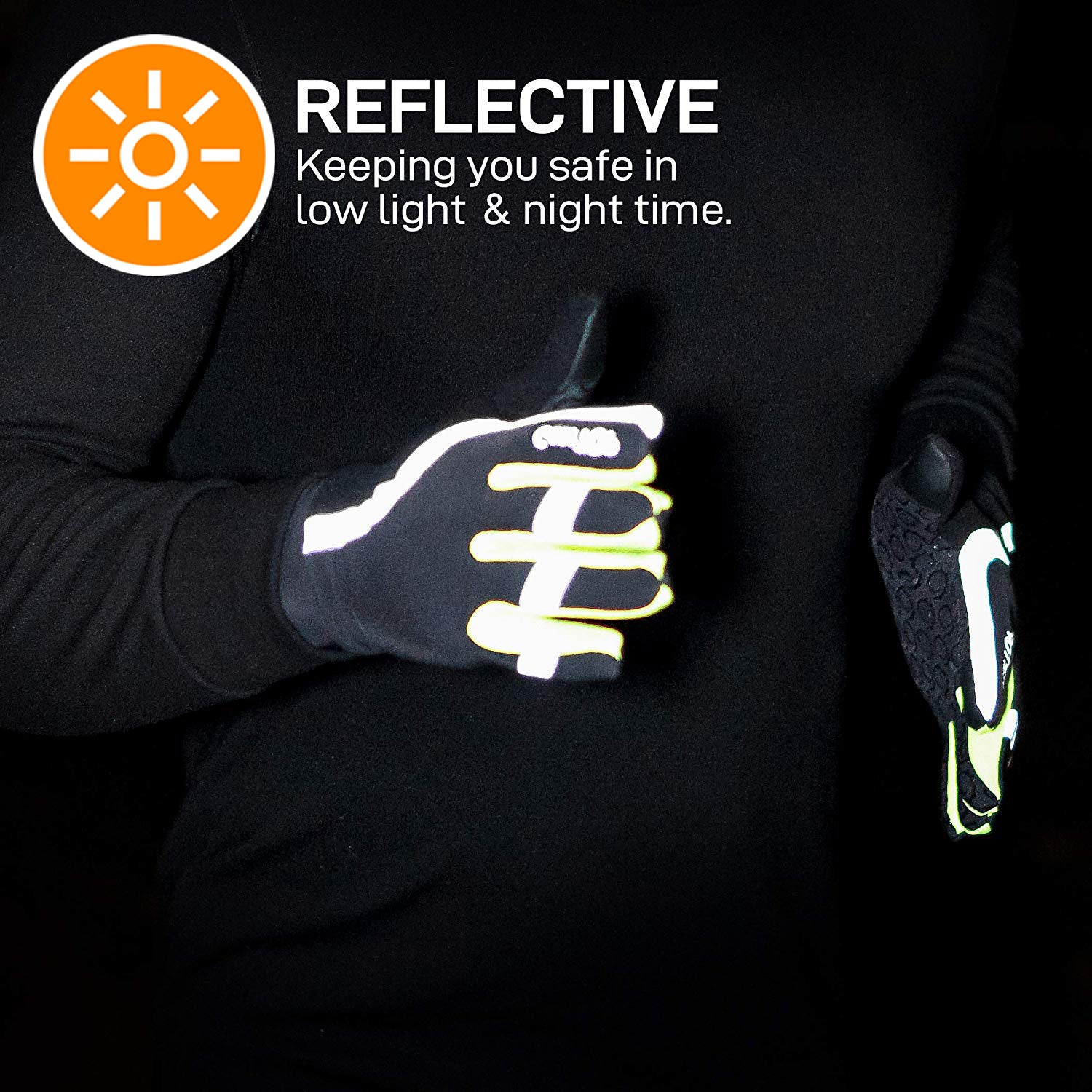 GearTOP Reflective Safety Gloves