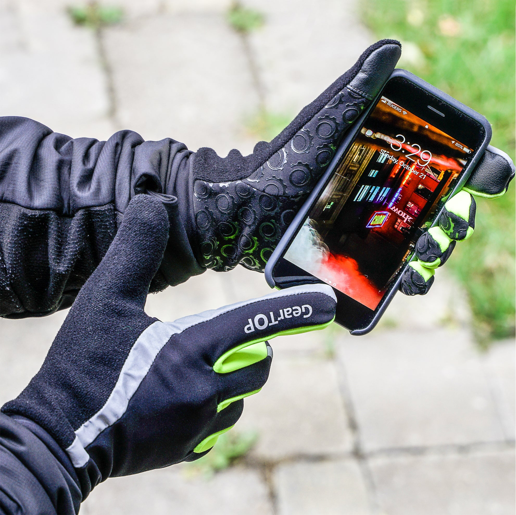 GearTOP Safety Gloves  Touchscreen compatible