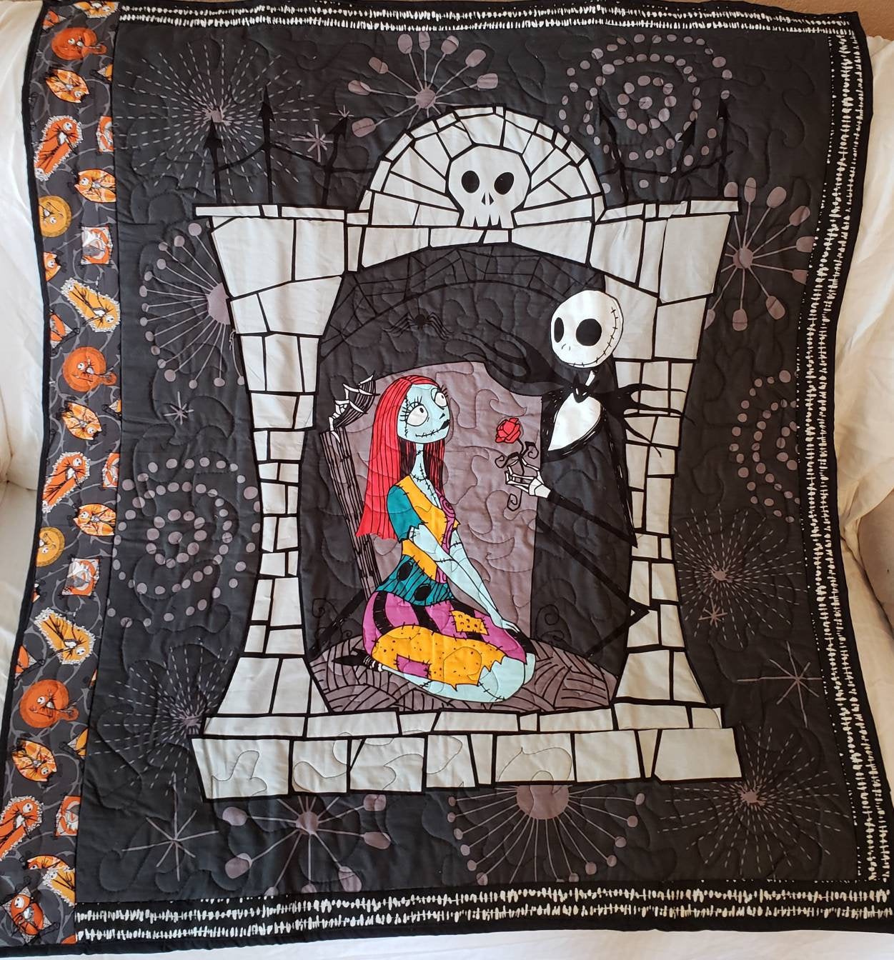 The Nightmare Before Christmas Blanket 2001371 - Weirdo Stuff
