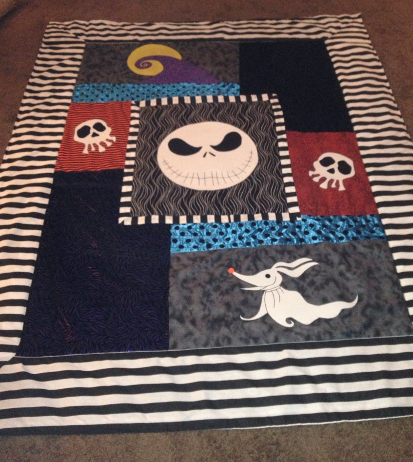 The Nightmare Before Christmas Blanket 2001374 - Weirdo Stuff