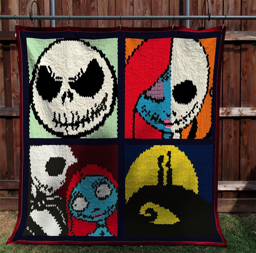 The Nightmare Before Christmas Blanket 2808 01 - Weirdo Stuff