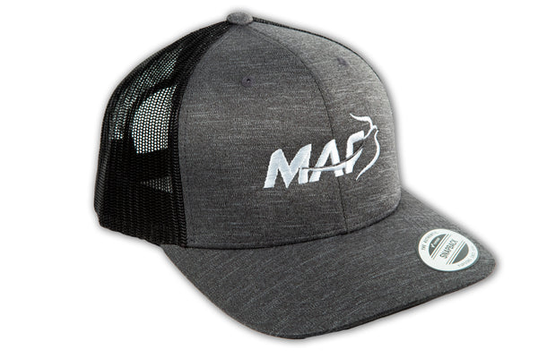 MAF Gray Snapback Hat