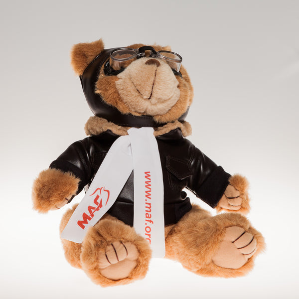 MAF Aviator Bear 12""