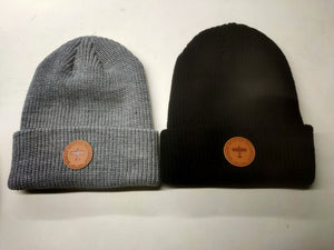Beanie Hat with Patch