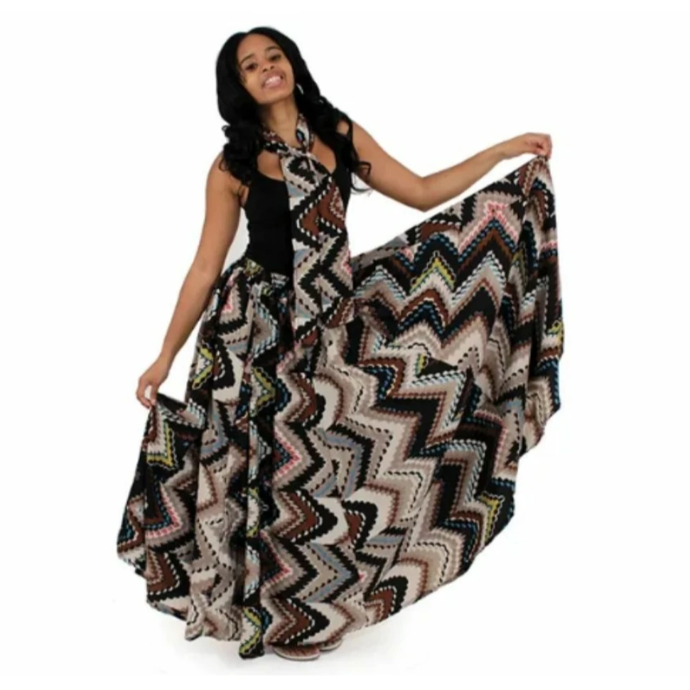 African Flared Skirt - Alagema Fabrics & Accessories