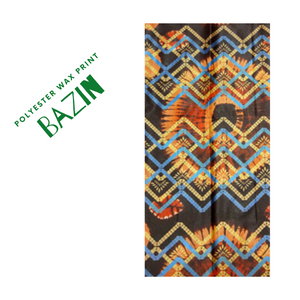 High Quality Polyester Bazin Wax Fabric #1 - Alagema Fabrics & Accessories