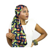 High-Quality African Print fabric Gele #2 - Alagema Fabrics & Accessories