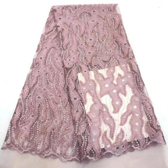 High Quality Net Lace Fabric #19 - Alagema Fabrics & Accessories