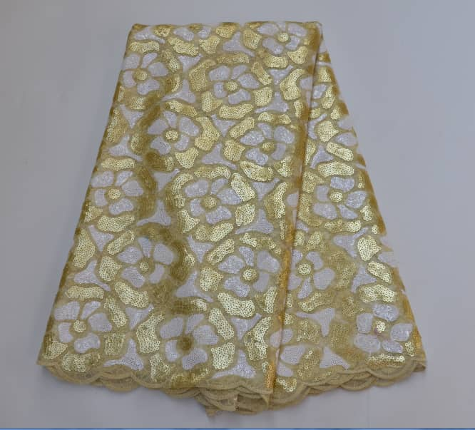 High Quality Organza Lace Fabric #37 - Alagema Fabrics & Accessories