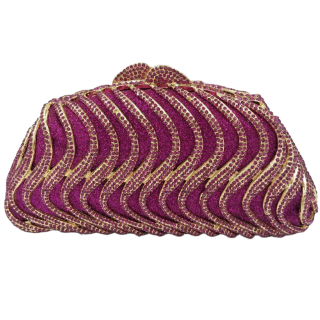 High Quality Clutch Evening Bag #29 - Alagema Fabrics & Accessories