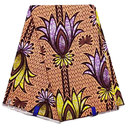 High Quailty 100% Cotton Super African Print Fabric #8 - Alagema Fabrics & Accessories