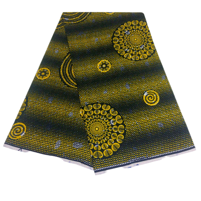 High Quailty 100% Cotton Super African Print Fabric #41 - Alagema Fabrics & Accessories