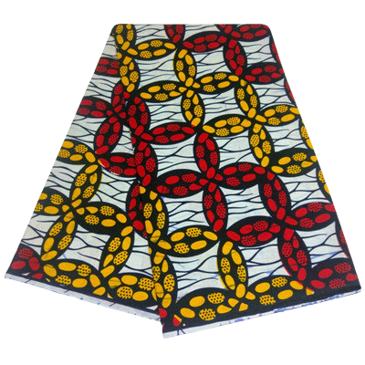 High Quailty 100% Cotton Super African Print Fabric #39 - Alagema Fabrics & Accessories