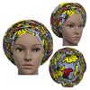 High Quality Wax Print Auto Gele #10 - Alagema Fabrics & Accessories