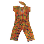 CHILDEN'S KENTE PANT SET #1 - Alagema Fabrics & Accessories