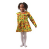 Girl's Kente Dress #2 - Alagema Fabrics & Accessories
