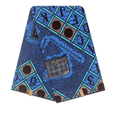 High Quailty 100% Cotton African Hollandais Wax Print Fabric #173 - Alagema Fabrics & Accessories