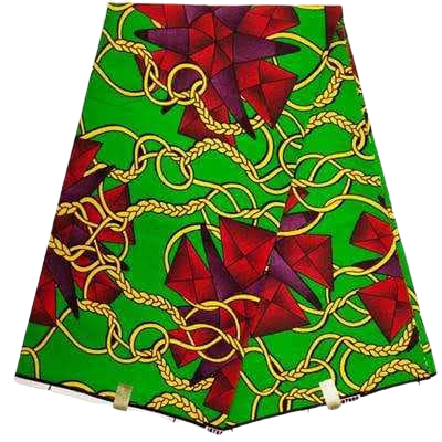 High Quailty 100% Cotton African Hollandais Wax Print Fabric #239 - Alagema Fabrics & Accessories
