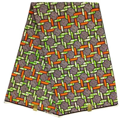 High Quailty 100% Cotton African Hollandais Wax Print Fabric #2 - Alagema Fabrics & Accessories