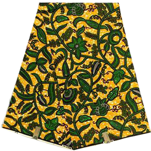 High Quailty 100% Cotton African Hollandais Wax Print Fabric #8 - Alagema Fabrics & Accessories