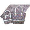 High Quality Six Yards African Wax Print Fabric with Matching Bag #14 - Alagema Fabrics & Accessories