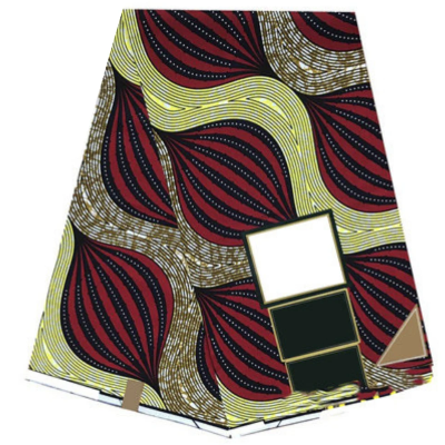 High Quailty 100% Cotton Hollantex African Print Fabric #3 - Alagema Fabrics & Accessories