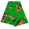 High Quailty Polyester African Print Fabric #15 - Alagema Fabrics & Accessories