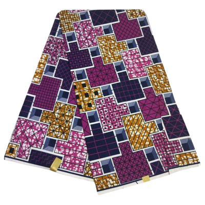 High Quailty Polyester African Print Fabric #29 - Alagema Fabrics & Accessories