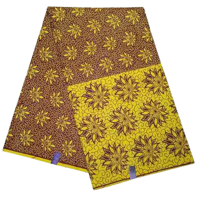 High Quailty Polyester African Print Fabric #24 - Alagema Fabrics & Accessories
